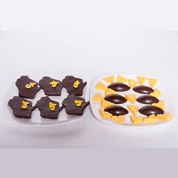 Green Bay Packers Football and Wisconsin Chocolate Treats