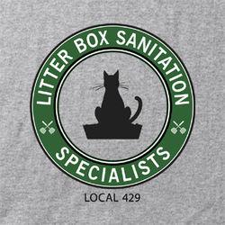 Litterbox Sanitation Specialist T-Shirt