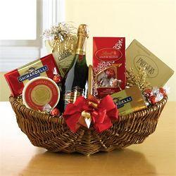 A Sparkling Champagne Gift Basket