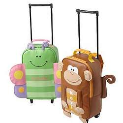 Personalized Butterfly or Monkey Rolling Backpack