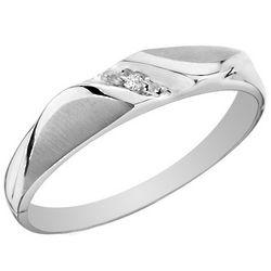 10K White Gold Women's Diamond Wedding Band