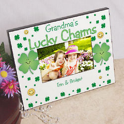 Lucky Charms Personalized Picture Frame
