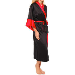Mongolia Colorblocked Robe