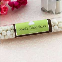 Personalized Bridal Shower Candy Tubes