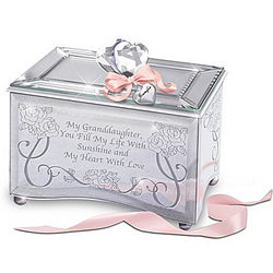 Granddaughter You Fill My Life With Sunshine Music Box