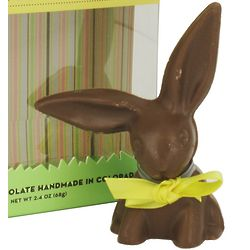 All Natural Solid Milk Chocolate Handmade Easter Bunny