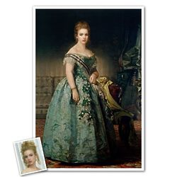 Portrait of Josefa Custom Print