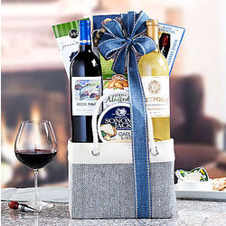California Red and White Wine Gift Tote