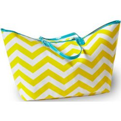 Wellie Chevron Resort Tote
