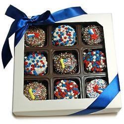Patriotic Oreo Cookie Gift Box