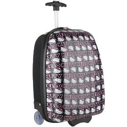 Hello Kitty Signature Rolling Hardsided Luggage