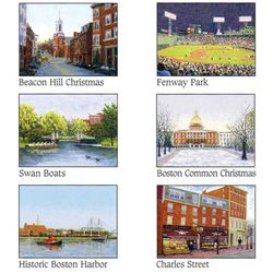 Boston Assorted Note Cards