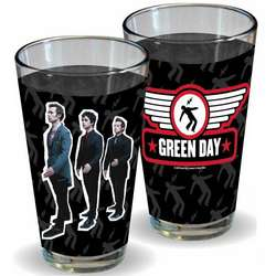 Green Day Pint Glasses