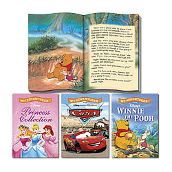 Personalized Giant Sized Disney Story Books