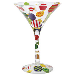 Ornamentini Martini Glass
