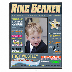 Personalized Ringbearer Magazine Frame