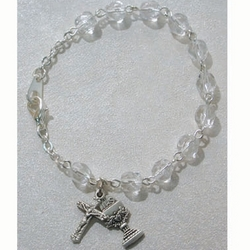 Crystal Communion Bracelet