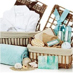 Superior Waves of the Pacific Spa Basket Set
