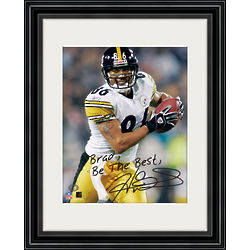 Hines Ward Personalized Framed Photo