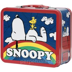 Snoopy Retro Lunch Box