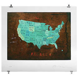 Places in America Wall Art Print