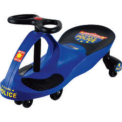 Blue State Police Lil' Rider Wiggle Car