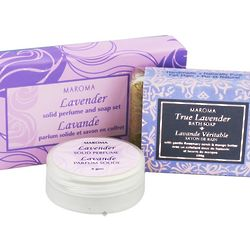 Lavender Scented Solid Perfume and Soap