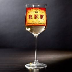 BFF Wine Glass