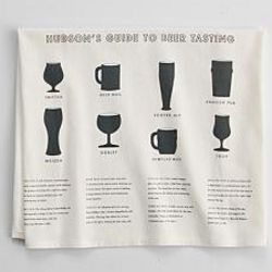Guide To Beer Tasting Kitchen Towels