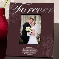 Silver Forever Couple's Picture Frame