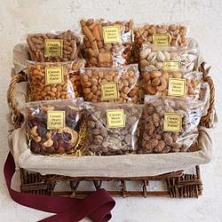 Deluxe Nuts and Snacks Gift Basket