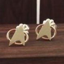 Star Trek Energize Stud Earrings