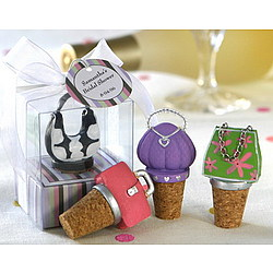 Purse Wine Stoppers Party Favors