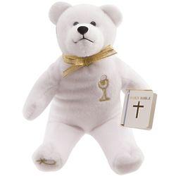 First Communion Stuffed Bear