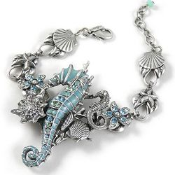 Under the Sea Seahorse Bracelet