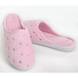 Isotoner Secret Sole Embroidered Clog Women's Slippers