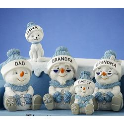 Snow Buddies Family Figurine