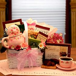 A Tea Lovers Little Tea Pot Gift Set