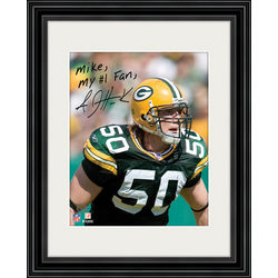 A.J Hawk Personalized Player Picture