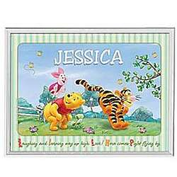 Personalized Winnie the Pooh Disney Canvas