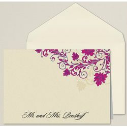 Touch of Glamour Personalized Thank You Notes