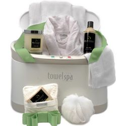 Towel Spa Luxury Organic Holiday Gift Set