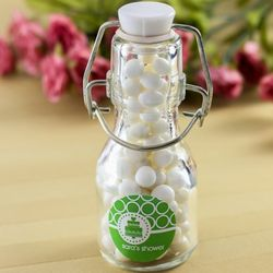 Personalized Mini Glass Bottle Favors