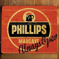 Personalized Always Open Wood Bar Sign