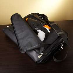 Men's Leather Briefcase with Gun Holster