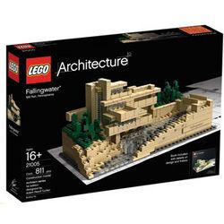 Frank Lloyd Wright Fallingwater Lego Set