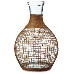 Recycled Handcrafted Glass Bali Vase