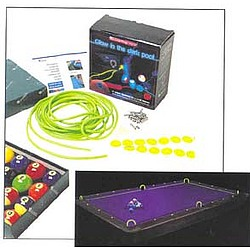 Glow-in-the-Dark Billiards Kit