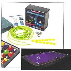 Glow-in-the-Dark Billiards Kit
