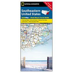 Southeastern USA Guide Map